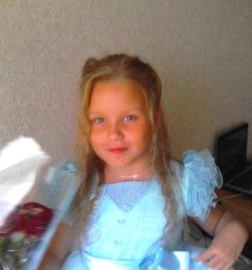 Платье для девочки 4,5-7 лет