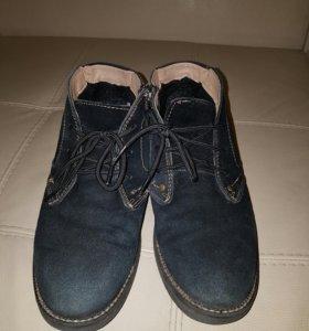 Ботинки 39 р.зимние