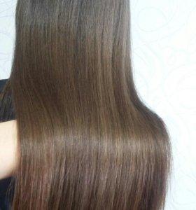 Полировка волос на дому