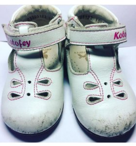 Туфли для девочки на первые шаги