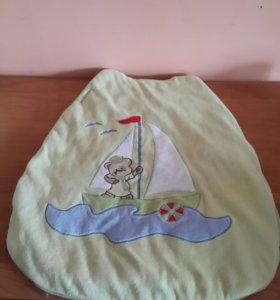 Лежак с подушечкой