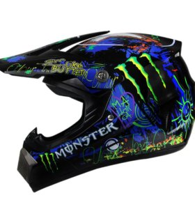 Шлем кроссовый Helmo CR166, новый, S, M, L, XL