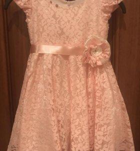Праздничное платье р-р 98 + болеро