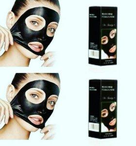 "Маска для лица Black Mask ""Fcaial & Nose Mascarill"
