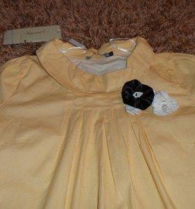 Новая блуза рубашка 42