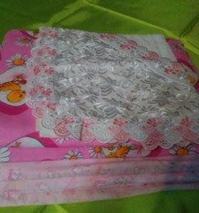 Постельное белье, одеяла для малышей