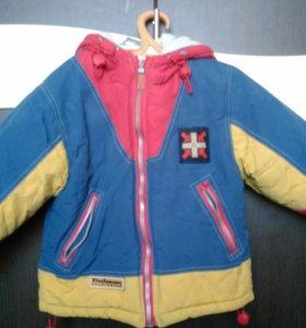 Зимняя куртка 110 р-р