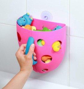 Органайзер для игрушек в ванну