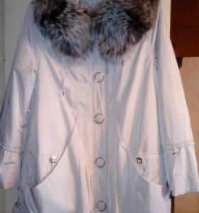 Куртка-плащ, осень-зима