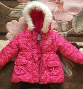 Курточка весна-осень или тёплая зима