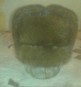 Шапка норковая муржская