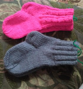Детские носки ручной работы