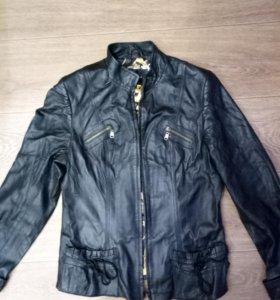 Кожанная куртка.