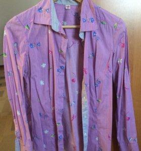 Женские рубашки, 4 шт -500 р