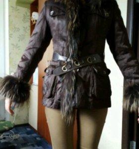 Куртка с подкладкой кролика