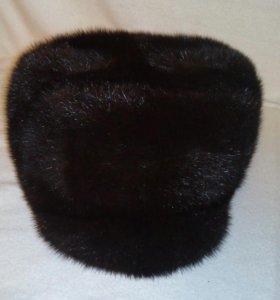 Мужская новая норковая шапка