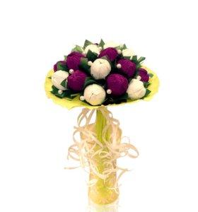 Букет из конфет тюльпаны