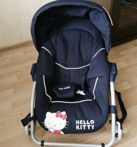 Детский шезлонг качалка Brevi BabyRocker