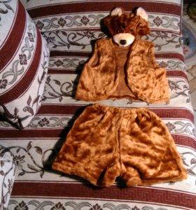 Новогодний костюм медведя (новый)
