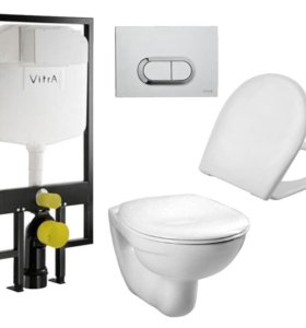 Инсталляция с унитазом Vitra 9773B003-7202