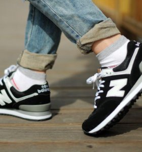 Кроссовки New Balance Black&White