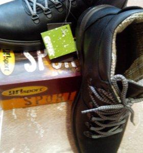 Новые ботинки Grisport