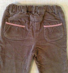 Продам джинсы микровельвет kanz80/12мес-24мес