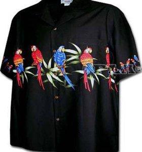 Гавайка.Гавайская рубашка мужская из США.