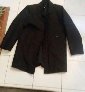 Пальто муж размер М 44-46