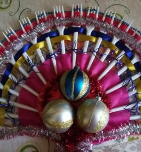 Новогодний веер