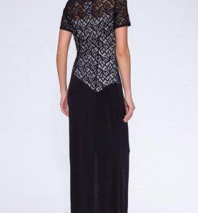 Кружевное платье новое рр50
