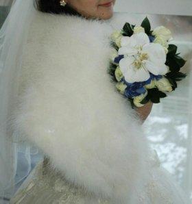 Накидка невесте, для зимы как раз