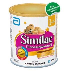 Смесь Similac Гипоаллергенный 1 0-6 мес 400 гр