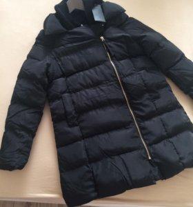 Куртка чёрная женская