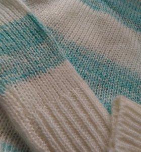 Новый свитер теплый
