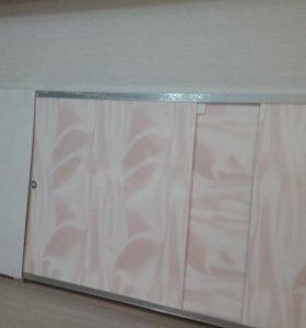 Алюминевый экран под ванну 1680мм Х 560мм
