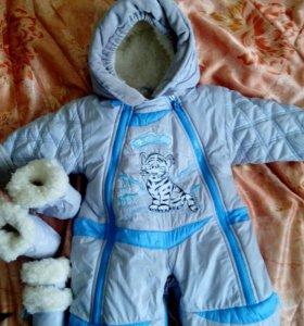 Зимний костюм-трансформер детский