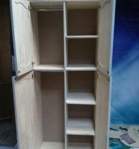 Шкаф из массива сосны НОВЫЙ