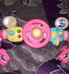 Детский музыкальный руль