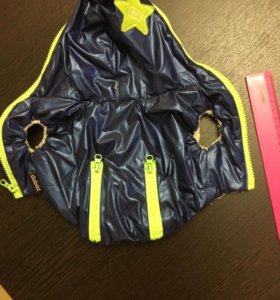 Курточка с флисовым подкладом
