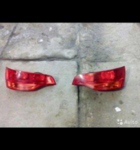 Задние фонари Audi Q7