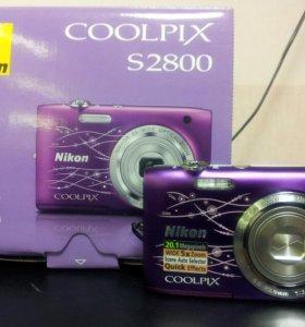 Nicon coolpix s2800