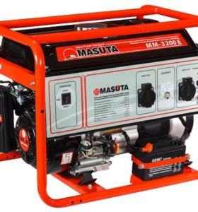 Генератор бензиновый Masuta MM-3200E, 3.2 кВт.