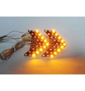 Поворотники в зеркала LED