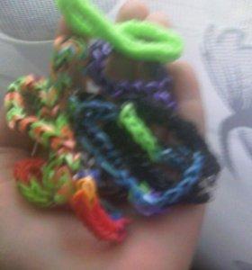 Продаю браслеты из резинок