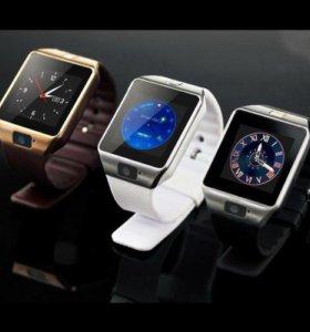 Смартфон часы smart watch dz 09