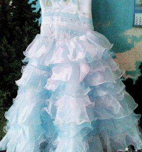 Новогодние платье! 7-10 лет.