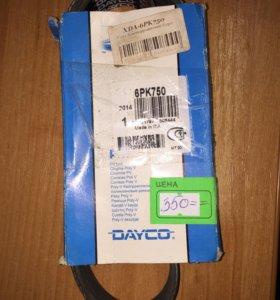 Ремень ручейковый Dayco 6PK750