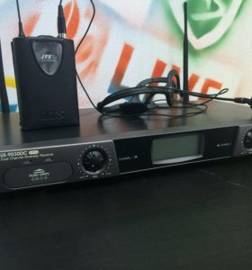 ‼️Микрофонная радиосистема с 2-мя гарнитурами JTS