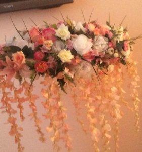 цветы для декора призидиума